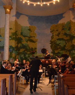 Den nybildade orkestern hoppas på en fortsättning tillsammans.BILD: SAMUEL BORG