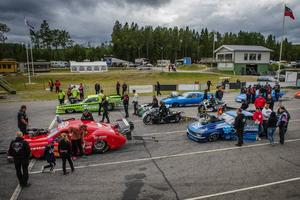 Sverigeeliten i dragracing var på plats på Sundsvall Raceway.