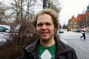 """Johan Ederfors nya verk """"Solen"""" handlar om att förlora någon som står nära. arkivbild: tomas larsson"""