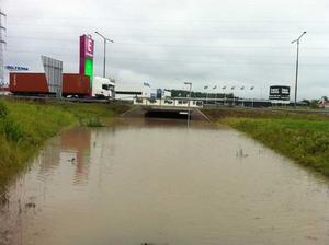Översvämning vid Erikslund!