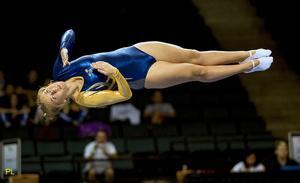 Louise Hedberg Lundblad var nöjd efter världscupdebuten som slutade med en 31:a plats.