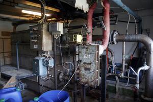 Röstabadet har haft samma reningsverk sedan det byggdes 1970.
