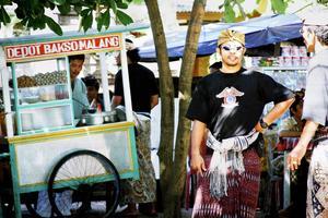 Gatukök i Bali. Bild ur boken The Food Traveller.