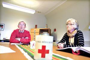 Ordföranden Folke Stenström och sekreteraren Ingegerd Severing berättar om lokalföreningens arbete och om hur de har gått vidare sedan skandalerna 2009.