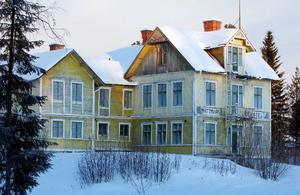 Mattmars gamla hotell har stått tomt i 40 år.