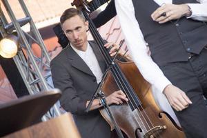 Filip Jers Quartet underhöll under fredagen.