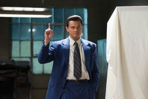 Leonardo DiCaprio spelar Jordan Belfort i