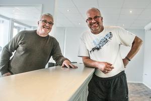 Perry Engström och Magnus Peterson lägger snart i ettan för Hälzinge trafikskola.