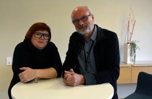 Anna Frisk och Anders Larsson, två av de ansvariga för konferensen.