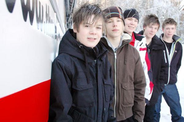 The Relatives, från Rätan, är ett av tio lokala band som tävlar i Rockkarusellen.