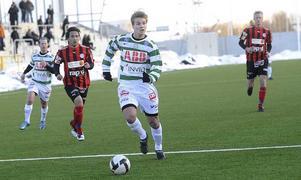 Axel Johansson spelar i VSK-tröjan den här säsongen. Foto: Alf Pergeman