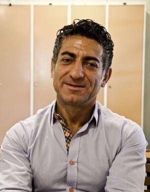 Souheil Bcheri är initiativtagare till att Norrtullskolan deltar i projektet.