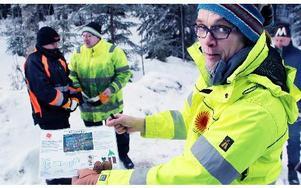 Vegard Haaneas, tidigare Stora Ensos Helleforsdistrikt med älgjaktsansvar, sysslar nu med utveckling av bolagets drivningsmetoder.