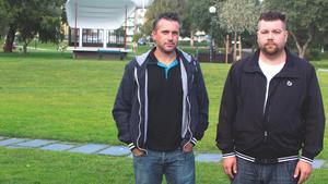 Henrik Eriksson och Tony Himmler är två Fagerstabor som startat en grupp på Facebook för att få in förslag.