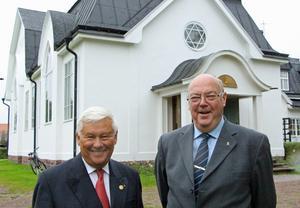 Tomas Bornestaf är ordförande och Hans Beminge är sektreterare i den stiftelse som i dag driver Soldathemmet och Soldatkyrkan.