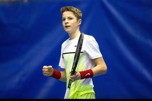 Rudolf Molleker, tysk tennistalang född 2000, är klar för semifinal i Kramfors.