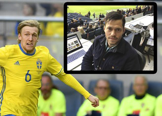 Flygstrejken stoppar svenska landslaget