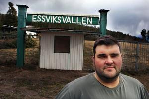 Essvik AIF:s ordförande Thomas Wallberg är förväntansfull över det kommande allsvenska spelet.