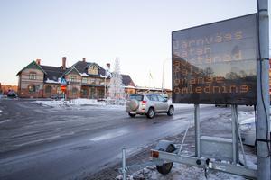 Järnvägsgatan stängs av mellan Bergslagsvägen och Fagersta C.