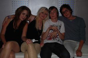 Silk. Sandra, Maddiz, Erik och Johannes
