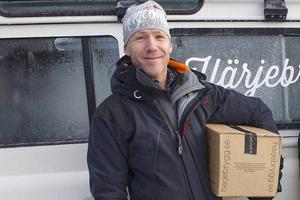 Greger Thörn, marknadsansvarig på Härjebrygg i Tännäs.
