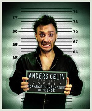 Anders Celin. Stand up-gäst hos Gasta i kväll.