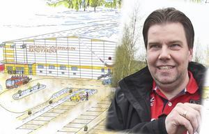 – Signalvärdet är stort. Här är man beredd att satsa på idrotten och det är viktigt för Söderhamn, säger arenabolagets styrelseordförande Christian Ehn.