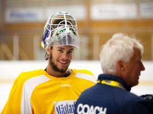 Eddie Läck ser ut att få göra NHL-debut inom kort.