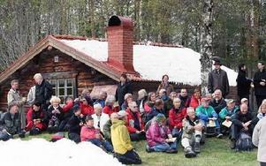 Cirka 50 personer gick med i helgens Pilgrimsvandring.FOTO:LEIF OLSSON