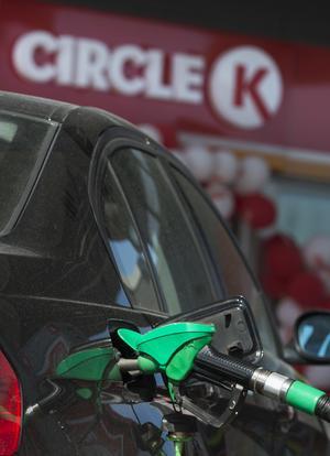 Cirka 25 procent av Circle K:s stationer i Sverige har förskottsbetalning för tankning.