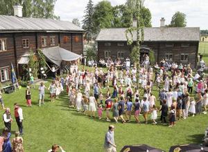 Utsikt från restaurangens övervåning.   Foto: Yngve Karlsson