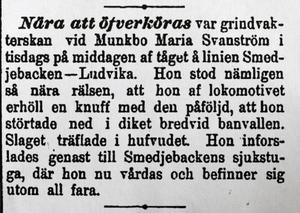 Ur tidningen Dalpilen. Foto:Ur tidningen Dalpilen
