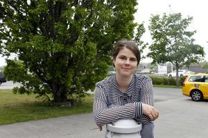 Cecilia Holmgren är ny på posten som näringslivsutvecklare.