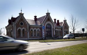 En knytpunkt i Hudiksvall.
