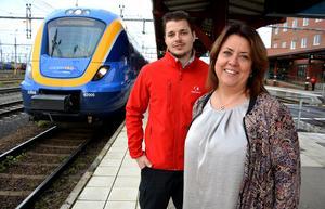 Efter nio års frånvaro är Tågkompaniet tillbaka på Mittbanan, och enligt bolagets Maria Cederberg och Kim Ekman så har Ånge nu fått en större plats i Norrtågstrafiken.