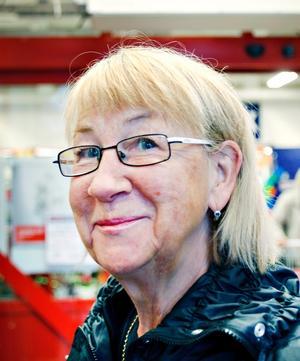 Kristina Lindelöf, pensionär, 65 år, Älvkarleby.– Sådär men inte när det gäller jobb för ungdomar.