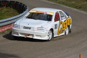 Lars Svensson snubblade på målsnöret i Klass 1, Super Cars.