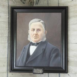 Fornminnesforskaren E.G Wengelin.