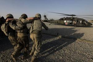 Det råder delade meningar om Sveriges delta-gande i det USA-ledda kriget i Afgha-nistan.Foto: SCANPIX
