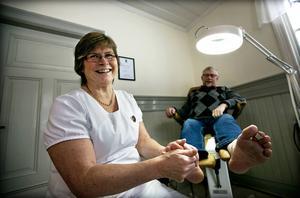 Karin Danielsson har nyligen startat Mira Fotvård och fot-spa hemma i Junsele.