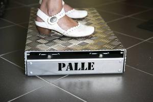 Ergofokus döper sina produkter till namn i stället för att använda produktnummer. Här representerat av pallen Palle.