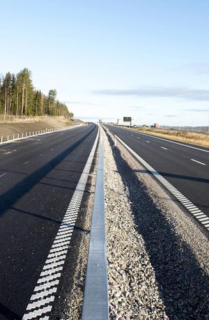 På söndag öppnar den nya sträckan mellan Myre–Skönsmon upp – men Trafikverket vill inte ge exakt tid av säkerhetsskäl.
