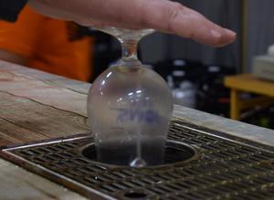Glassköljen gick varm under helgens SMÖF, när drygt 2 500 besökare provade öl.