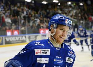 Jens Bergenström i LIF-tröjan för två år sedan.