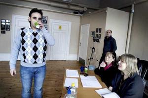 Bild från den audition som hölls i februari i år.