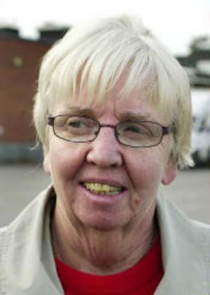 Torborg Andersson, 65+, pensionär, Matfors.–Jag följer inte någon serie. Är inte intresserad. Jag tittar på Mittnytt och Gokväll.
