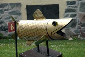 GLÄNSANDE. Först tänkte Leif Högström att barnen skulle slå igenom guldfisken men det blev för svårt.