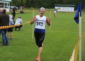 I damklassen blev det hemmaseger genom Irene Åslund, Lillhärdals IF.