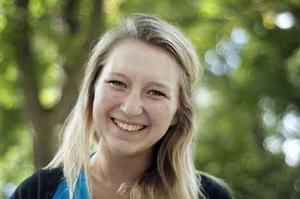 Förstagångsväljare. För Caroline Högström är valet ett lätt val.