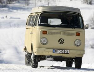 Den första fyrhjulsdrivna VW-bussen såg dagens ljus 1978.
